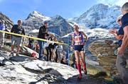Auch wenn es wehtut: Conny Berchtold empfindet beim Laufen jede Menge Glücksgefühle, auch beim Jungfrau-Marathon. (Bild PD)