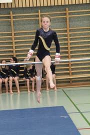 Andjela Vasovic in der Kategorie 1 im Einsatz. (Bild: Paul Gwerder)