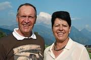 Jürg Sterchi mit Yvonne von Deschwanden. (Bild: Robert Hess/NZ, Buochs, 23. September)