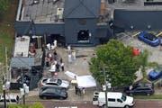 Das Areal des Nachtclubs Pulse am Tag nachdem Anschlag. (Bild: Keystone/AP/Red Huber)