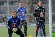 Peter Jehle, hier beim ersten Training mit dem FC Luzern. (Bild: Boris Bürgisser / Neue LZ)