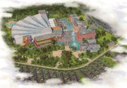 So sieht der neue Themenpark Rulantica in einer Visualisierung aus. (Bild: PD)