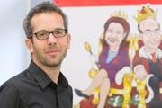 Roman Burger bei einem Medienanlass im Jahr 2012. (Bild: KEYSTONE/Alessandro Della Bella)