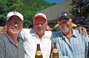 Christian Sutter, Walter Berger und Hans Liechti (v. l.). (Bild: Robert Hess (30. Juli 2017))
