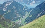 Die schöne Aussicht stimmt mit den guten Resultaten der verschiedenen Gemeinden in Isenthal überein. (Bild: Mary Leibundgut (August 2016))