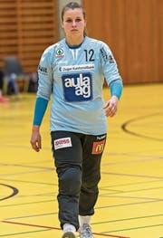 Marion Betschart vom LKZ zeigte eine starke Leistung. (Bild: Christian Herbert Hildebrand (Zug, 13. November 2016))