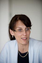 Packt eine Weiterbildung an: alt Regierungsrätin Esther Gasser. (Archivbild Corinne Glanzmann)