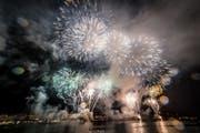 Wie jedes Jahr endete das Luzerner Fest mit einem imposanten Feuerwerk über der Seebucht. (Bild: Luzerner Fest / PD)