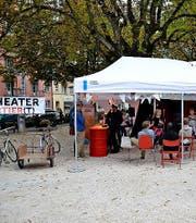 Die beliebte Bühne im Helvetiagärtli bei der dritten Ausgabe im letzten Jahr. (Bild: PD)