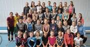 Turnerinnen und Trainer der Getu Bürglen verbrachten erlebnisreiche Tage im Trainingslager. (Bild: Barbara Gisler-Poletti (Schiers, Oktober 2017))