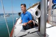 Markus Meier ist Schifffahrtsexperte beim Strassenverkehrsamt. (Bild Werner Schelbert)