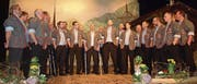 Die Jodlergruppe Schlierätal an ihrem 20. Jodlerkonzert. (Bild: Kurt Liembd (Kägiswil, 17. Februar 2018))