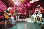 Phil Carmen (links) und Ajay Mathur bei ihrem Auftritt im «Happy Day». (Bild: Philipp Schmidli (Wolfenschiessen, 18. August 2017))
