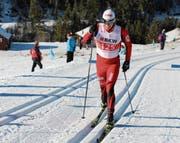 Zählt zu den Favoriten auf den Meistertitel: Pascal Christen, hier an den Schweizer Meisterschaften in Steg. (Bild: Martin Arnold (Steg, 13. Januar 2018))