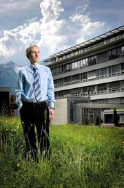 Urs Baumberger, Direktor des Kantonsspitals Nidwalden. (Bild Pius Amrein)