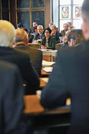 Blick in den Nidwaldner Landratssaal. (Bild: Corinne Glanzmann)