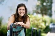Die Buochserin Tabitha Aeppli wird ab August als Kindergärtnerin in Oberdorf arbeiten. (Bild Corinne Glanzmann)