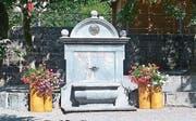 Wurde für 9700 Franken restauriert: der Conrad-Ferdinand-Meyer-Brunnen. (Bild: PD)