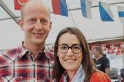 Gemeinderat Stefan Müller und seine Frau Tamara. (Bilder Rosmarie Berlinger)