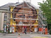 Ein Graffiti soll zu Offenheit und Toleranz mahnen. (Bild: pd)