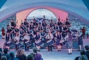 Die United Maniacs musizieren anlässlich der Burns Night, wie hier im Jahr 2014, auch kommenden Samstag im Pfalzkeller. (Archivbild: Urs Bucher)