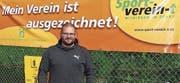 Nicht nur sein Verein ist ausgezeichnet: TCR-Präsident Michael Schneider ist Funktionär des Jahres. (Bild: Ulrike Huber)