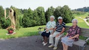 Die Pensionäre geniessen die Aussicht. (Bild: Manuela Bruhin)