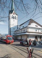 Die reformierte Grubenmann-Kirche in Teufen. (Bild: Hanspeter Schiess (Januar 2014))