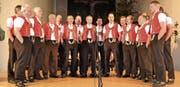 Der Jodelclub Thurtal, Leitung Albert Ulmann, beim Auftritt in der katholischen Kirche Alt St. Johann.