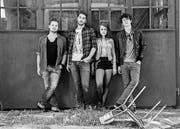 Headliner Manolo Panic: Die vier jungen Musiker aus Zürich haben Anfang Jahr ihr Erstlingswerk «Helpless & Strange» veröffentlicht. (Bild: pd)