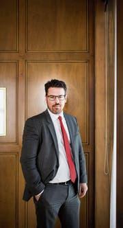 «Wir beraten unsere Kunden mit langfristiger Perspektive»: Michael Steiner, neuer Acrevis-Chef. (Bild: Benjamin Manser (St. Gallen, 22. März 2018))