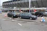 An beiden Autos ist ein hoher Sachschaden entstanden. (Bild: Stapo SG)