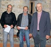 Walter Fässler ist seit 5, Walter Frick seit 15 und Viktor Hollenstein seit 20 Jahren im Verwaltungsrat.