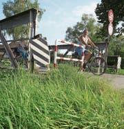 Seit Jahren ein heiss diskutiertes Thema: der Ersatz der maroden Sternenbrücke. (Bild: Seraina Hess)