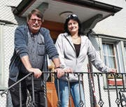 Beni und Monika Imhasly kamen aus dem Wallis mit einer fünfjährigen Zwischenstation im Bündnerland ins Toggenburg. (Bild: Peter Jenni)