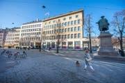 Ob eine Steuersenkung in St.Gallen für 2018 in Frage komme, liess der Stadtpräsident am Mittwoch offen. (Bild: Urs Bucher)