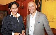 Ingrid E. Markart-Kaufmann und Patrick Schätti bewerben sich um den vakanten Sitz im Oberuzwiler Gemeinderat. (Bild: Philipp Stutz)