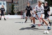 Das Unihockey-Leistungszentrum will junge Sporttalente an die internationale Spitze bringen. (Bild: PD)