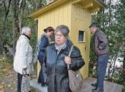 Die ehemaligen Grenzer-Häuschen haben nicht nur Interesse geweckt, sondern auch Erinnerungen und Emotionen. (Bild: Kurt Latzer)