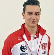 Marvin Flückiger gewinnt Teamgold an der EM in Tallinn. (Bild: pd)