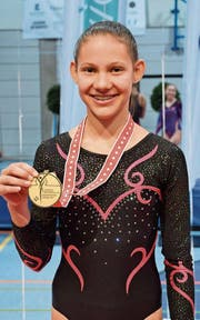 Durchlief die Talentschmiede von Rehetobels Getu-Trainer Willi Lanker: Norina Imhoof mit Gold. (Bild: PD)