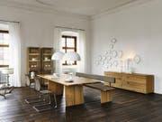 Möbel von Team 7 stehen für gesundes und flexibles Wohnen. (Bild: PD)