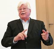 «In Europa haben wir noch keine echte Migrationspolitik»: Walter Fust referierte kürzlich in Dietfurt zu Hunger und Migration.