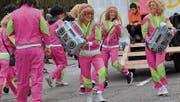 «Back to the Future» hiess das Motto der Gruppe vom Zahnerswis-Quartier.