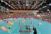 Das Athletik Zentrum in St. Gallen war bereits 2011 Spielstätte der Unihockey-WM der Frauen. (Bild: Benjamin Manser)