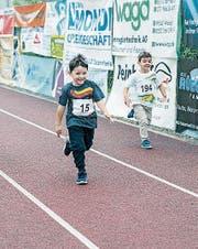 Der Finallauf der Kategorie Knaben 2013 und jünger. (Bild: PD)