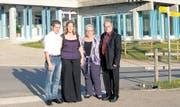 Von Vetsch zu Vetsch – die Jungen übernehmen die Leitung des Reka-Feriendorfes in Wildhaus: (von links) Urs und Sybille Vetsch, Ursula und Erich Vetsch. (Bild: pd)