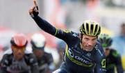 Michael Albasini, hier an der Tour de Romandie, beendet seine starke Saison mit Rennen in Italien. (Bild: Laurent Gillieron/Keystone)