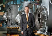 «Bei ABB sind Forschung und Entwicklung global aufgestellt»: ABB-Schweiz-Chef Remo Lütolf. (Bild: KEY)