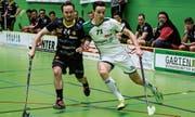 Julian Alder (rechts) und Waldkirch-St. Gallen wollen erstmals das Playoff erreichen. (Bild: PD)